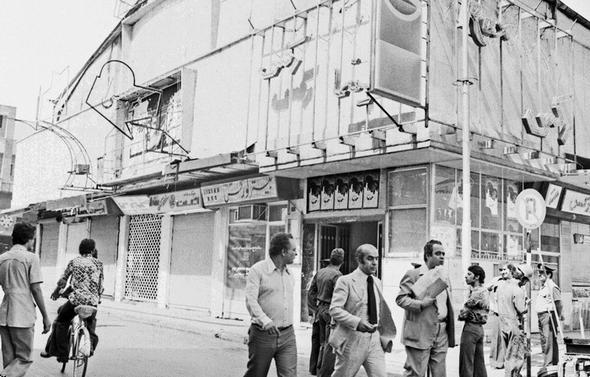 تصاویر : آتش سوزی در سینما رکس آبادان