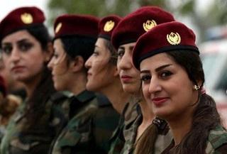 راز آرایش زنان کُرد قبل از جنگ با داعش!+عکس