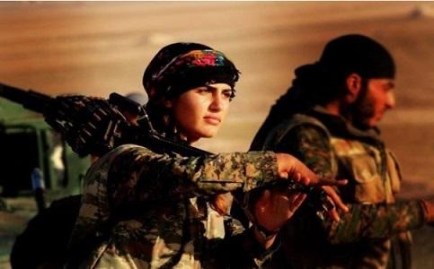 آنجلینا جولی کردها در نبرد با داعش کشته شد! +عکس