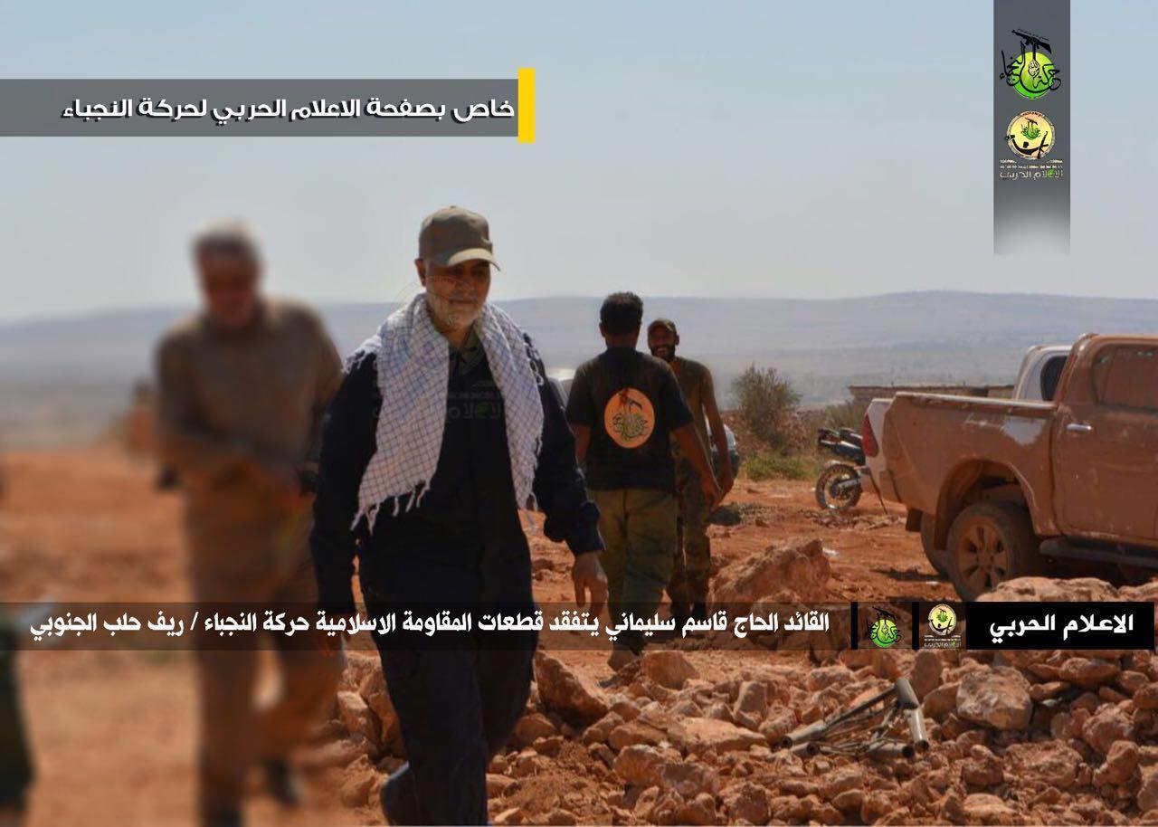 حضور سردار سلیمانی در حلب سوریه+تصاویر