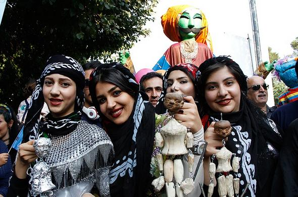 تصاویر : افتتاحیه جشنواره تئاتر عروسکی