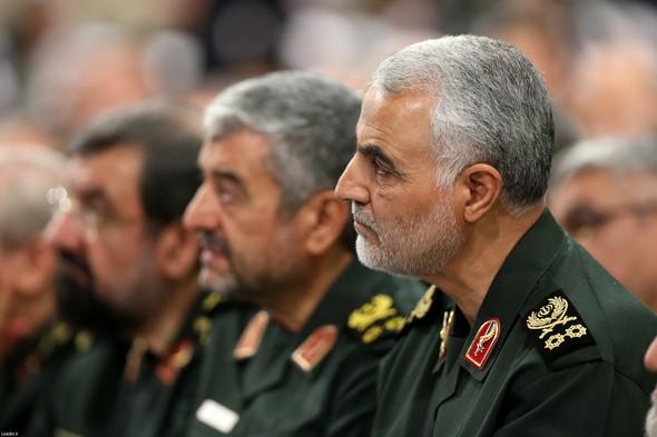 تصاویر : دیدار فرماندهان سپاه با رهبر معظم انقلاب