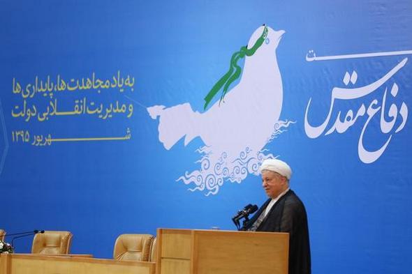 تصاویر : حضور آیتالله هاشمی در نشست دولتمردان دفاع مقدس