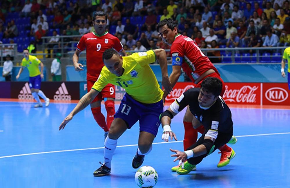 تصاویر : صعود تیم ملی فوتسال ایران با حذف برزیل
