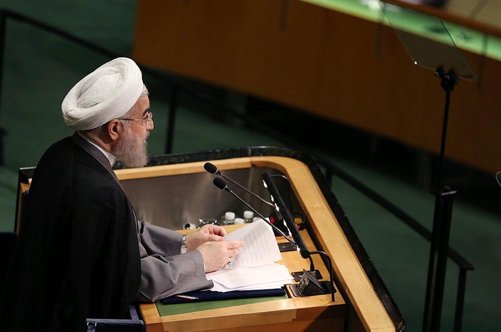 تصاویر : سخنرانی روحانی در سازمان ملل