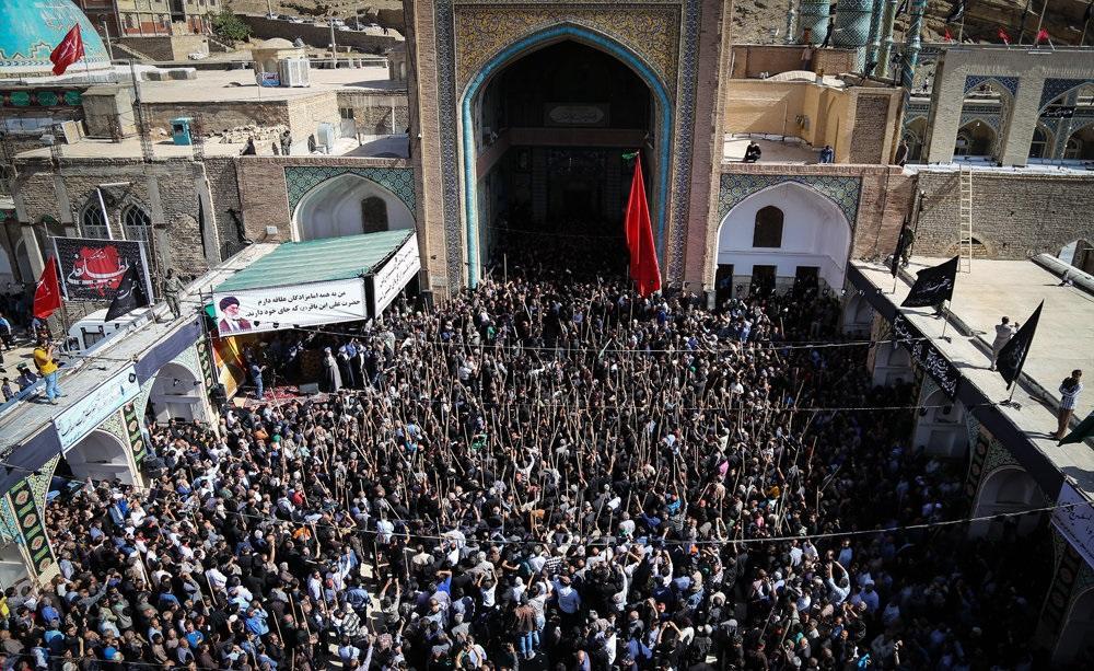 تصاویر : مراسم قالیشویان مشهد اردهال
