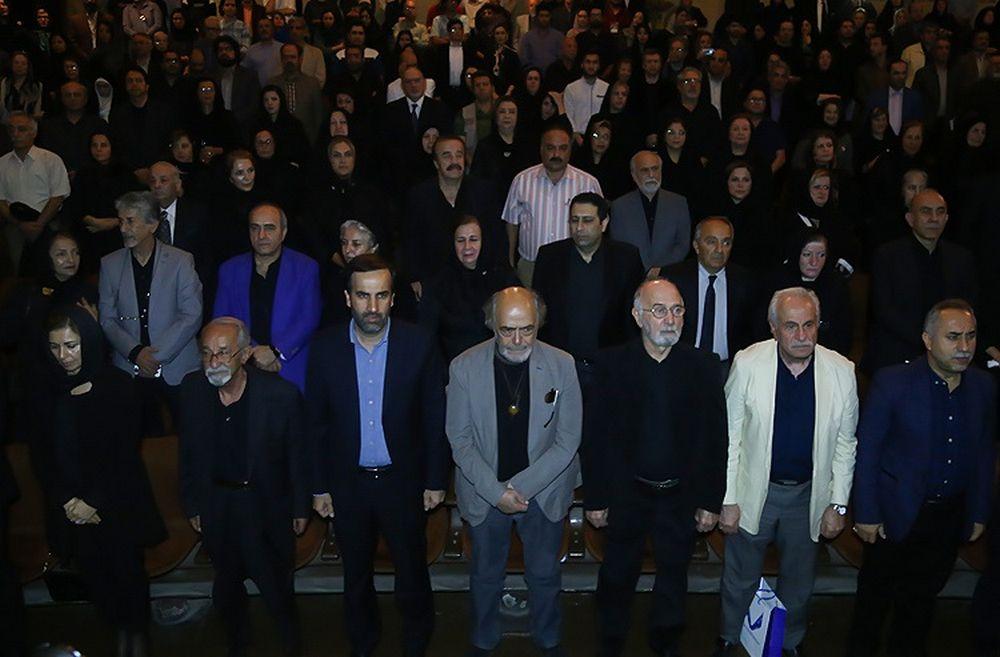 تصاویر : هنرمندان در مراسم یادبود داود رشیدی