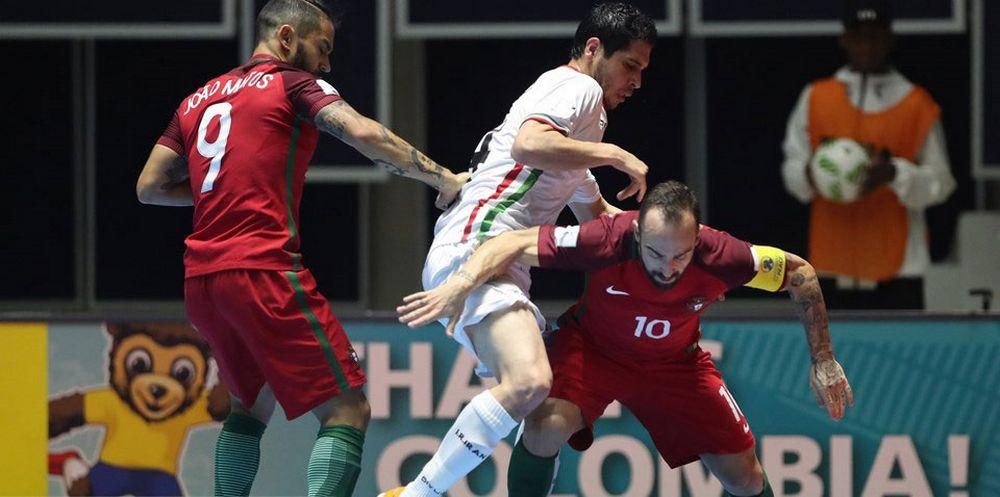 تصاویر : پیروزی تیم فوتسال ایران مقابل پرتغال