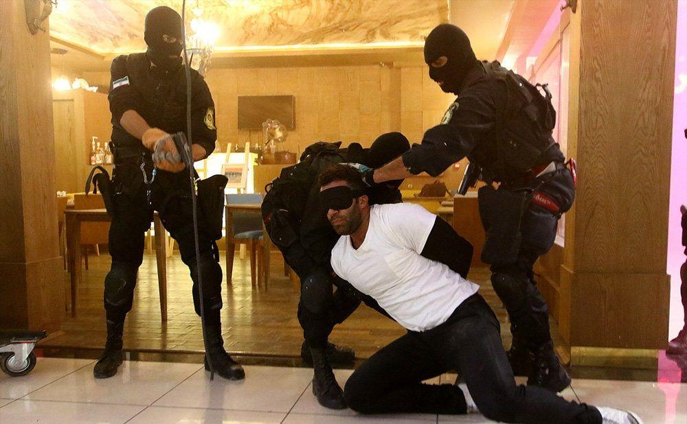 تصاویر : رزمایش رهایی گروگان در اصفهان