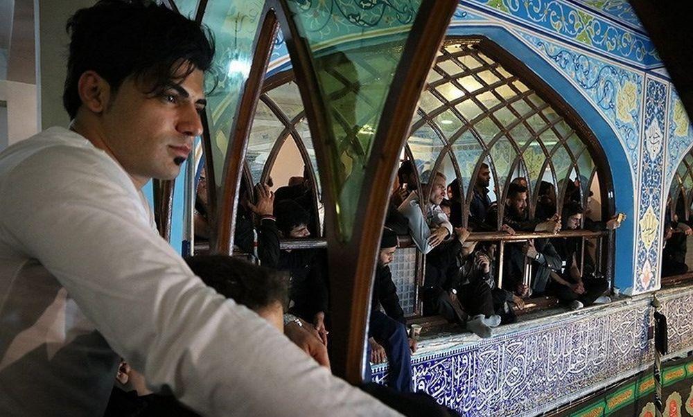 تصاویر : آیین طشت گذاری در اردبیل
