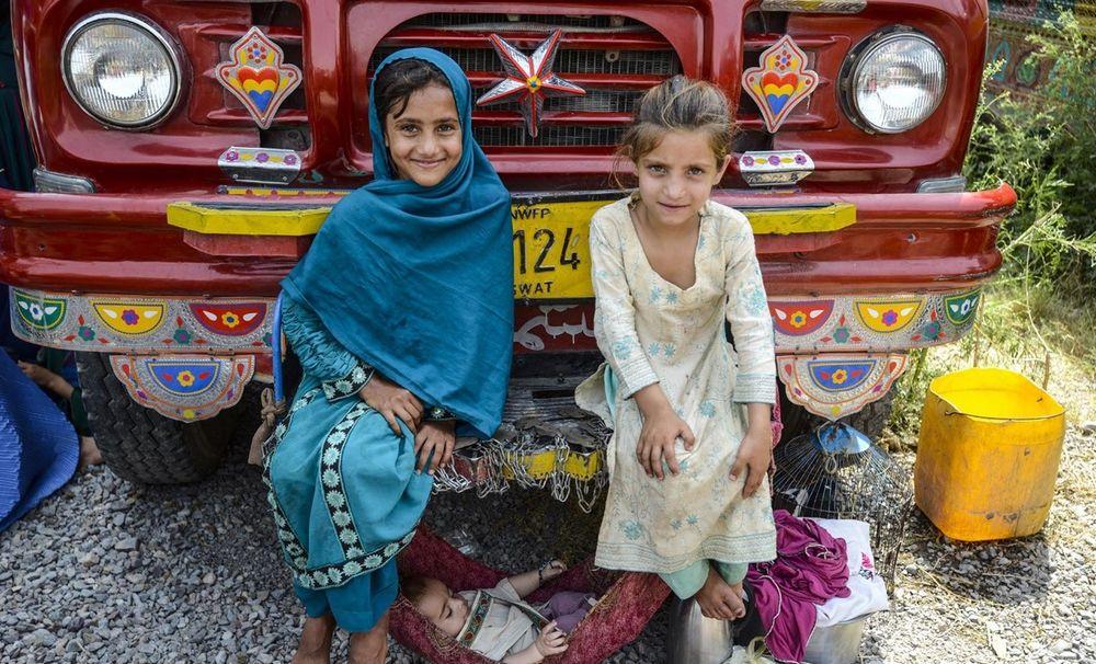 تصاویر : بازگشت آوارگان افغان از پاکستان