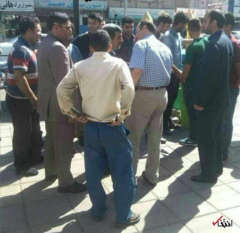 تصاویر: استقبال ویژه مردم رودبار از حضور احمدینژاد در خیابان!