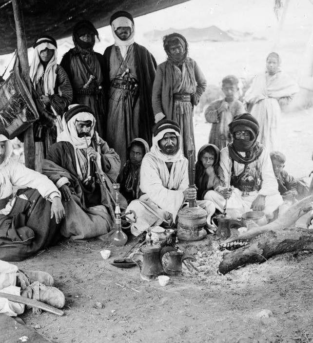 تصاویر : اعراب بادیه نشین در 118سال پیش
