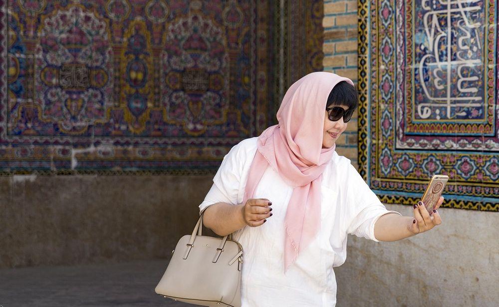 تصاویر : گردشگران خارجی در شیراز