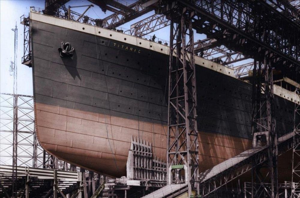 تصاویر : عکس های نایاب از کشتی تایتانیک