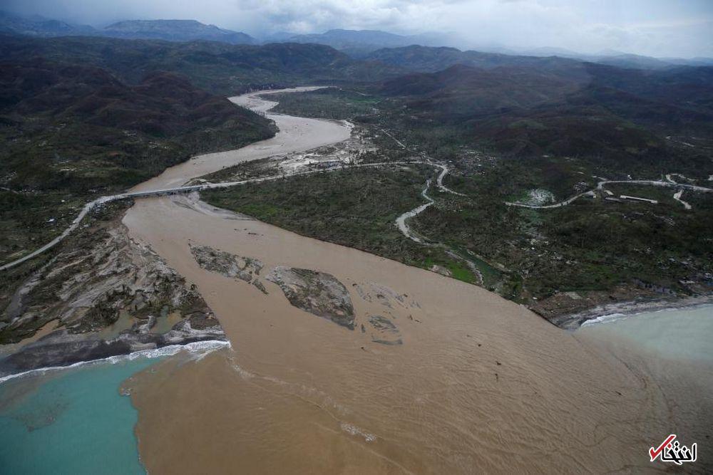 تصاویر : توفان مرگبار «ماتیو» در هائیتی