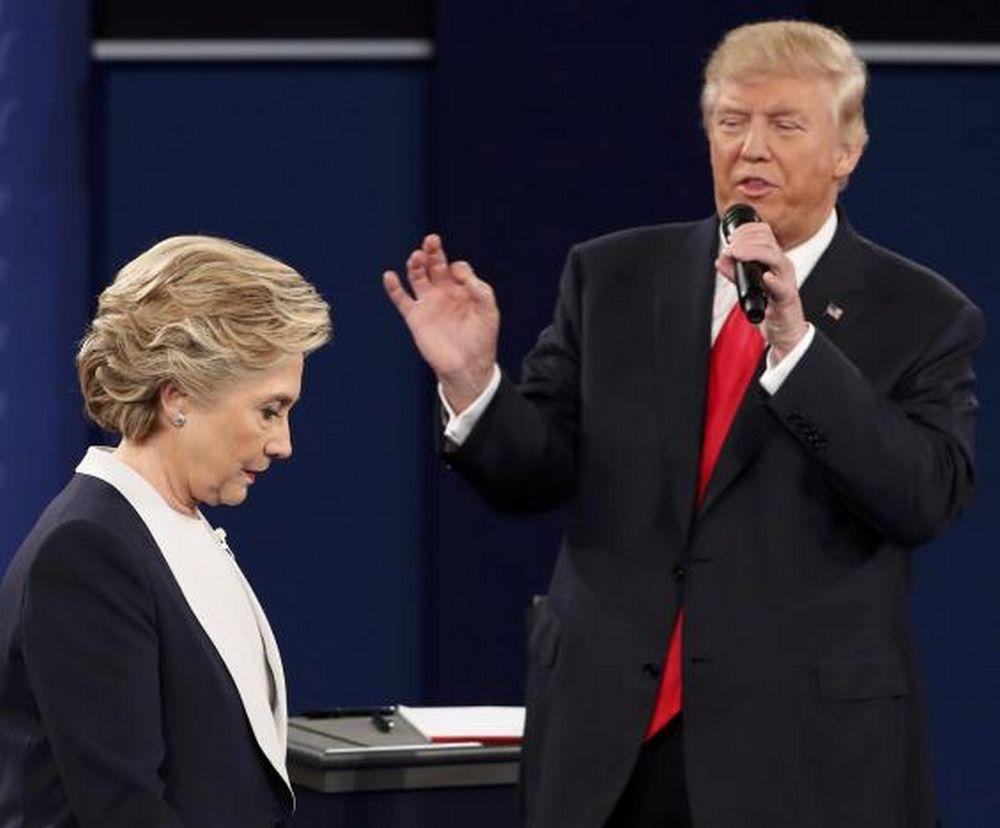 تصاویر : دومین مناظره هیلاری و ترامپ
