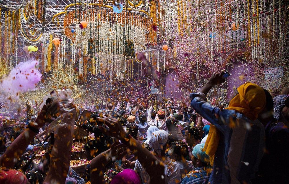 تصاویر : جشنواره هولی در هند