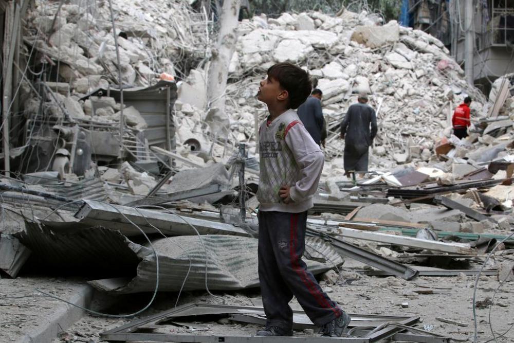 تصاویر : حلب در محاصره