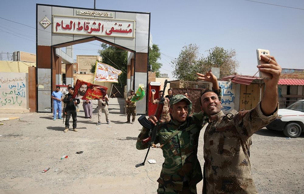تصاویر : آمادگی نیروهای عراقی برای حمله به داعش