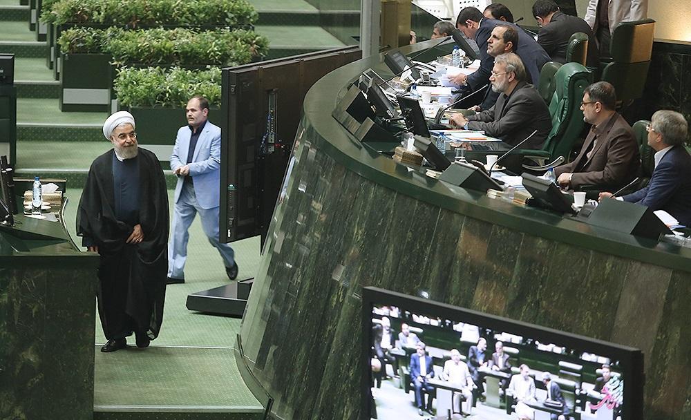 تصاویر : جلسه رای اعتماد به وزرای پیشنهادی دولت