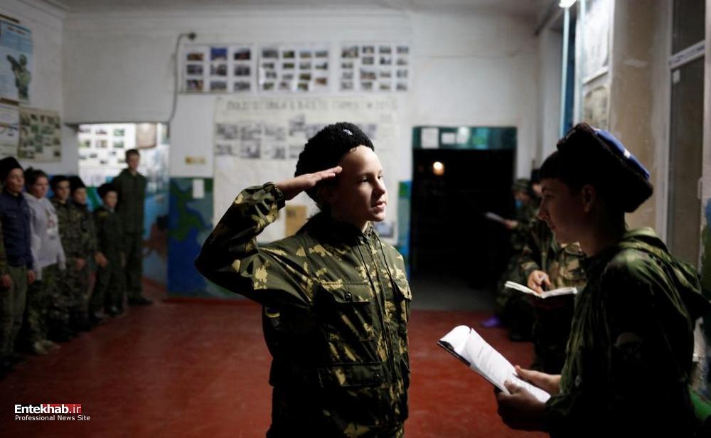 تصاویر : آموزش نظامی به کودکان روسی