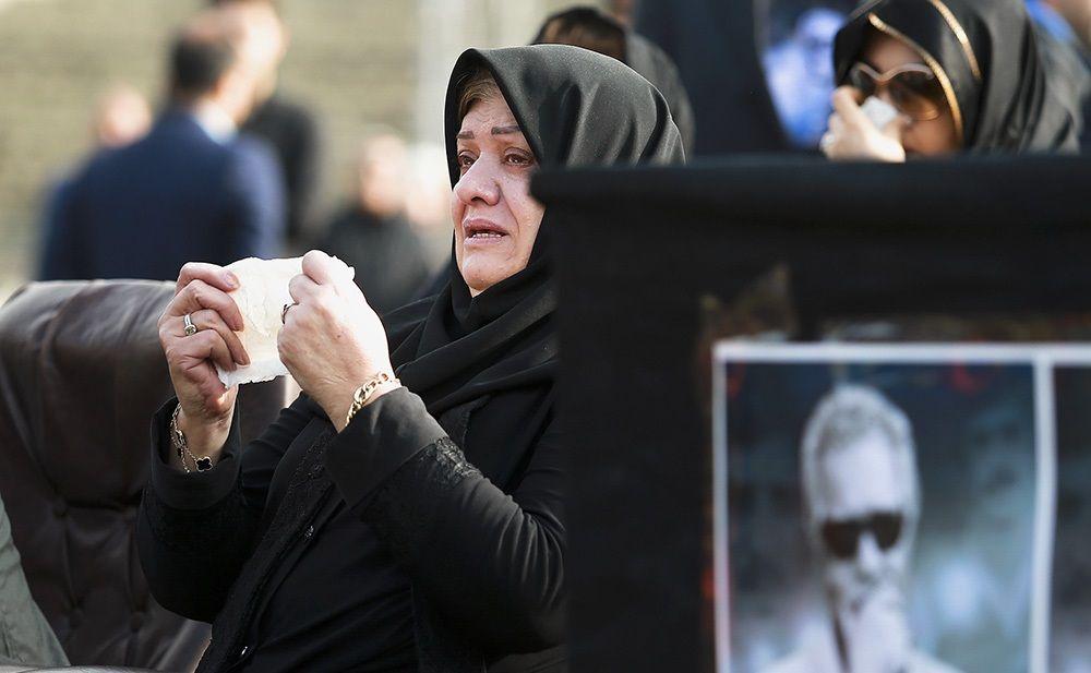 تصاویر : چهرهها در تشییع زنده یاد منصور پورحیدری