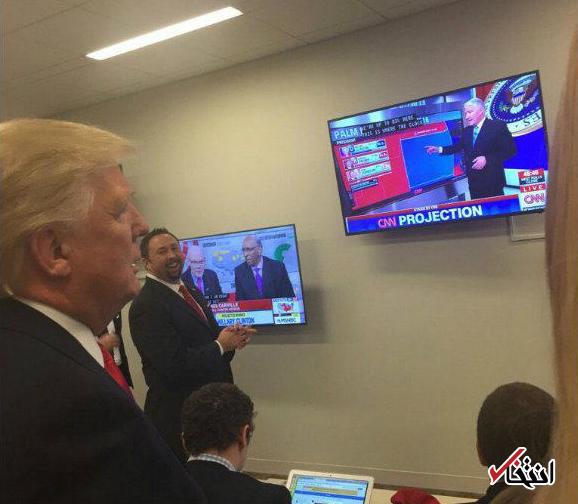 اخبار لحظه به لحظه خبرنگار «انتخاب» از نتایج انتخابات آمریکا: پیروزی ترامپ در 14 ایالت ؛ 9 ایالت برای هیلاری/ ترامپ 137 الکترال و هیلاری 104 الکترال دارد