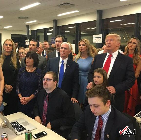 اخبار لحظه به لحظه خبرنگار «انتخاب» از نتایج انتخابات آمریکا: پيروزی ترامپ در 14 ایالت ؛ 9 ایالت برای هيلاری/ ترامپ 137 الکترال و هیلاری 104 الکترال دارد
