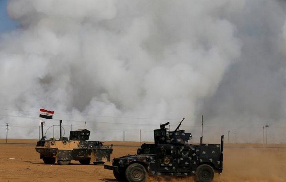 تصاویر : حربه داعش در موصل با انتشار گاز سمی