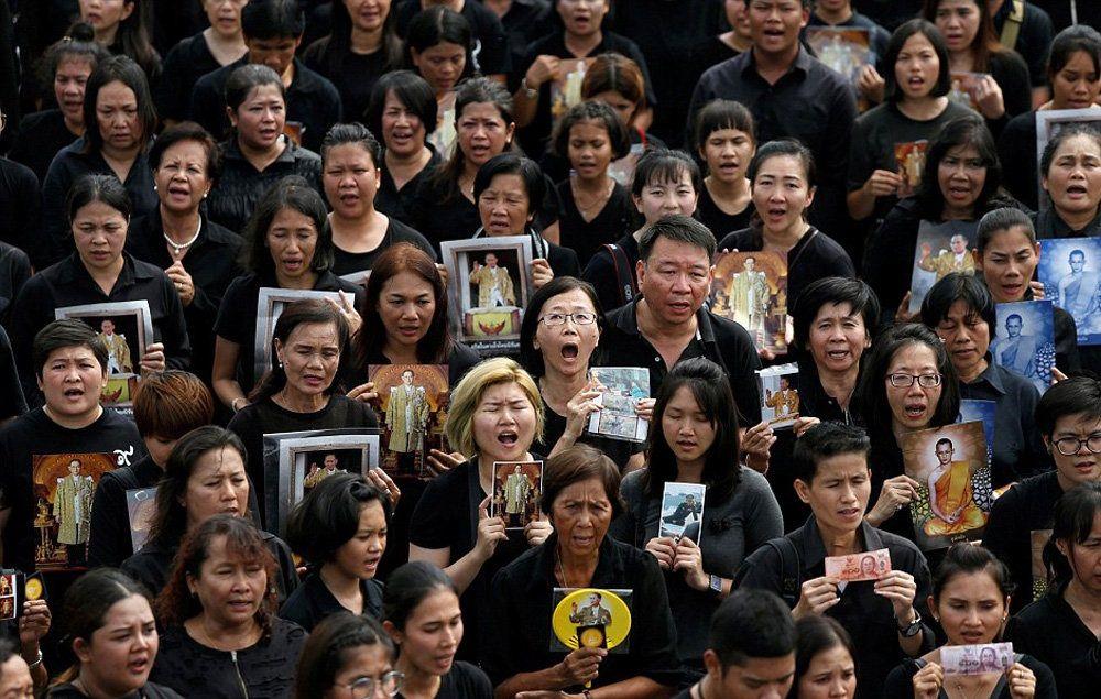 تصاویر : تجمع عزاداران تایلندی در بانکوک