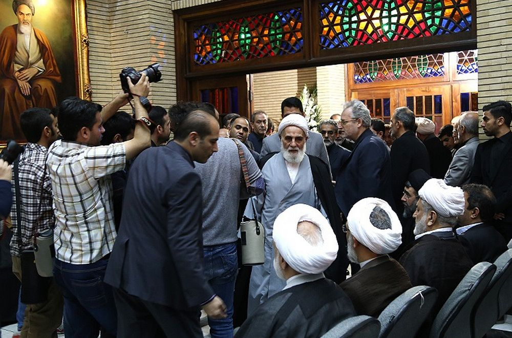 تصاویر : مراسم ختم حجتالاسلام شجونی