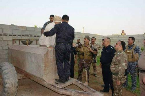 لحظه بازداشت پسر خاله صدام در «تانکر آب»+ عکس
