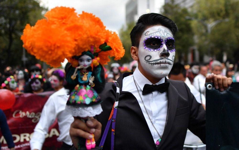 تصاویر : مکزیک در آستانه روز مردگان