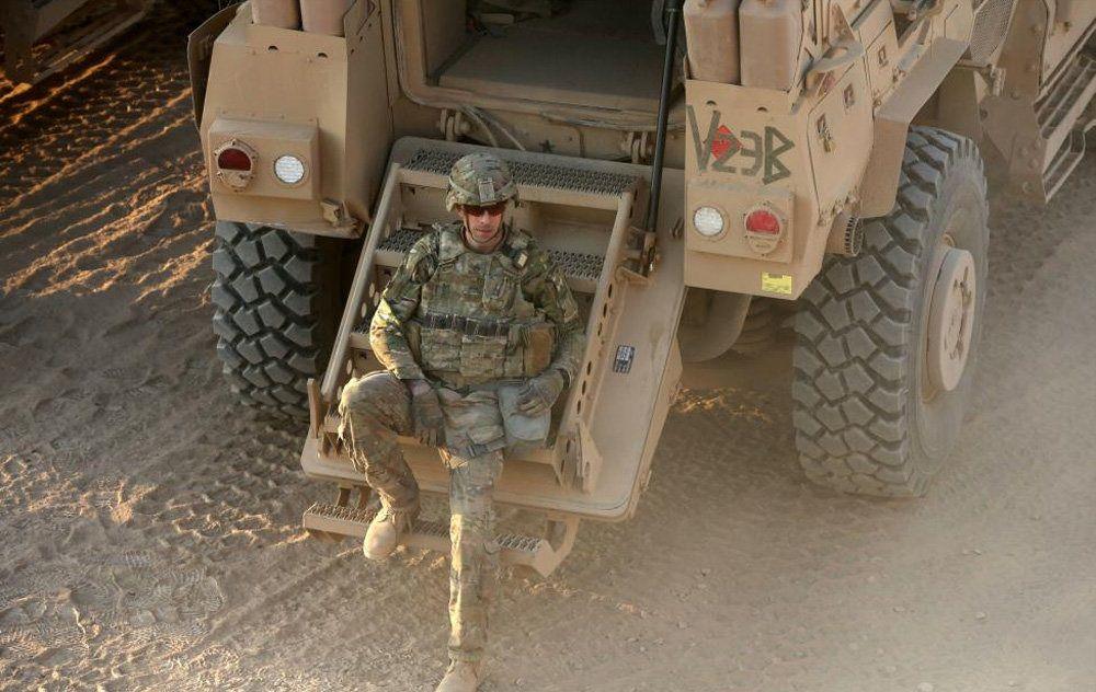 سربازان آمریکایی در موصل