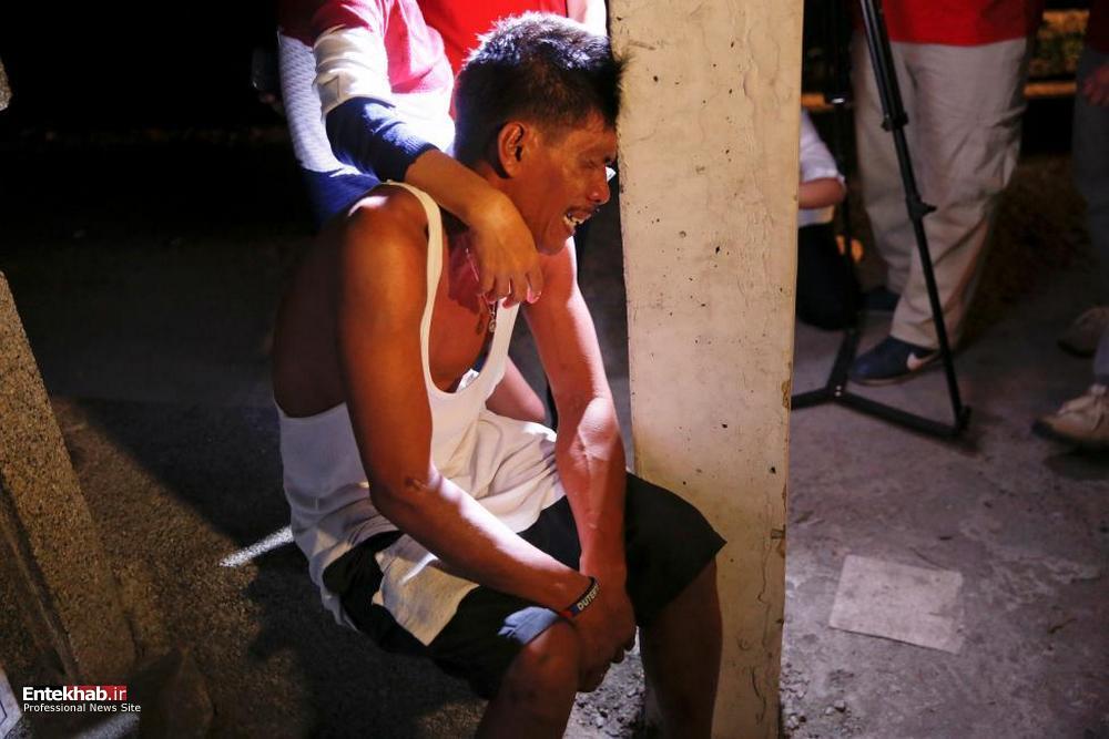 تصاویر : ادامه جنگ مرگبار مواد مخدر در فیلیپین