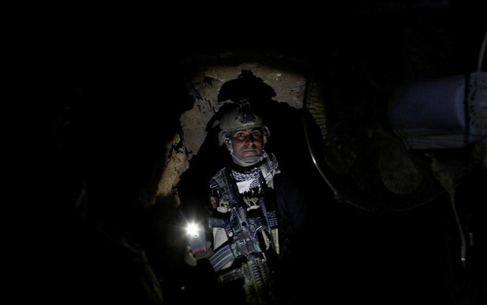 تصاویر : تونل های فرار داعش از موصل