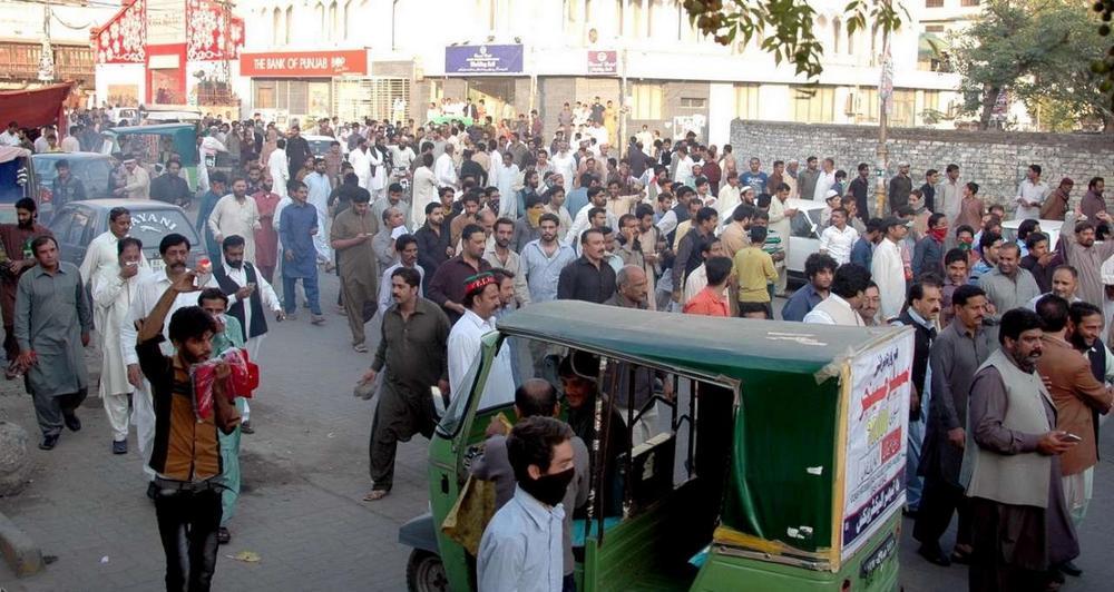 تصاویر : درگیری پلیس با مخالفان دولت در پاکستان