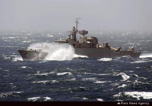 ناوگروه اعزامی نیروی دریایی ارتش برای اولین بار وارد اقیانوس اطلس شد