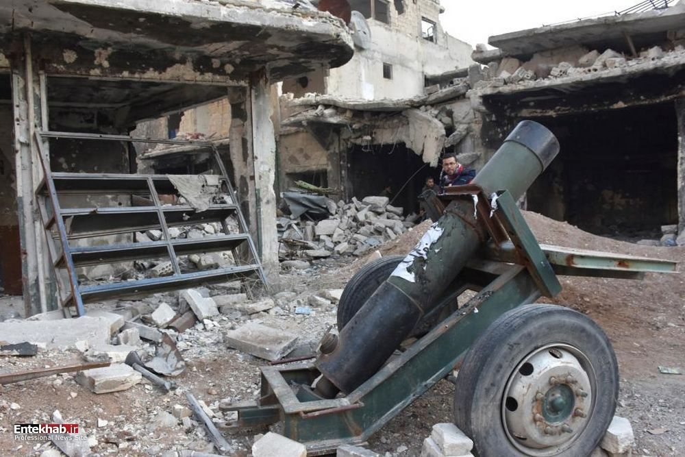 تصاویر : پیشروی های ارتش سوریه در حلب