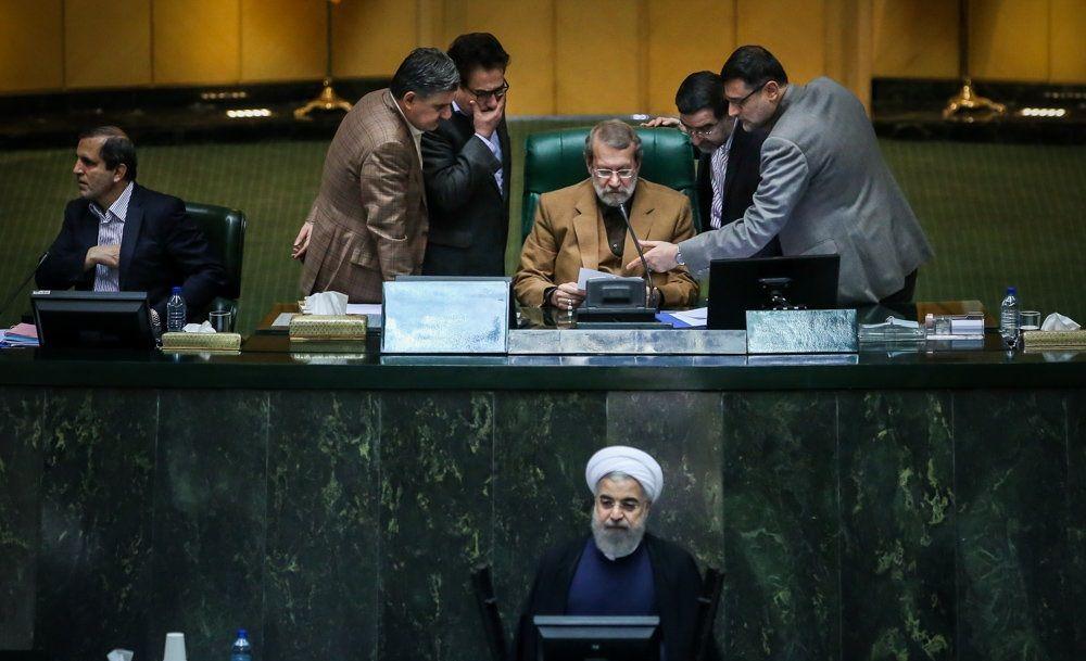 تصاویر : تقدیم لایحه بودجه ۹۶ به مجلس