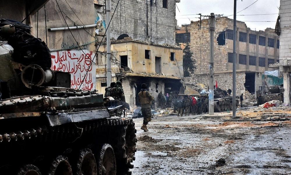 تصاویر : باز پس گیری شهر حلب از تروریست ها