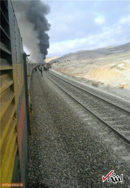 31 کشته و بیش از 72 مصدوم در برخورد دو قطار در سمنان/ اورژانس کشور: کشتههای این حادثه بهقدریاست که ایران را عزادار کند؛ حریق واگنها هنوز خاموش نشده؛ اطلاع دقیقی از شمار کشتهشدگان نداریم +تصاویر