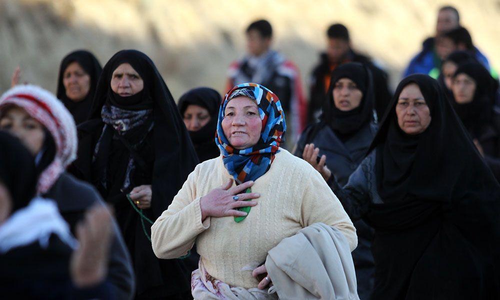 تصاویر : پیاده روی زائران حرم امام رضا(ع)