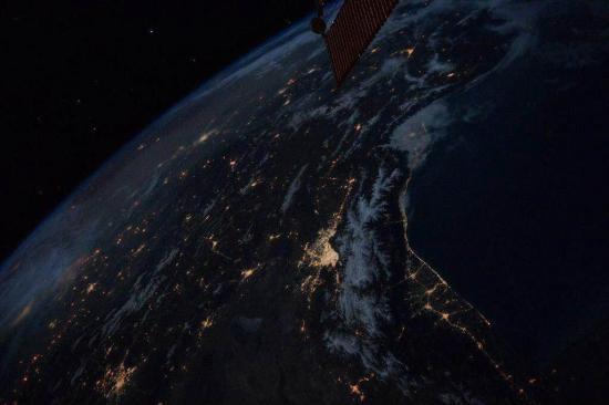 عکس/تهران از فضا