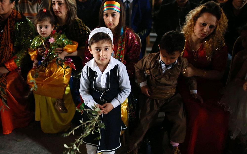 تصاویر : مراسم یکشنبه نخل در نقاط مختلف جهان