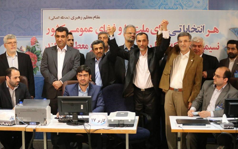 تصاویر/ ثبتنام احمدینژاد برای ریاستجمهوری دوازدهم