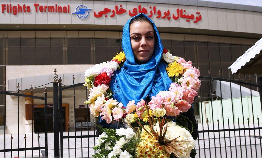 ورود نرگس کلباسی به ایران