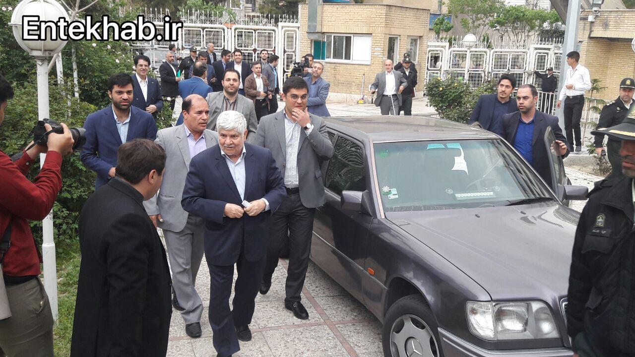 برادر آیت الله هاشمی رفسنجانی هم کاندیدای انتخابات شد: اگر شرایط مهیا باشد تا اخر می مانم+عکس