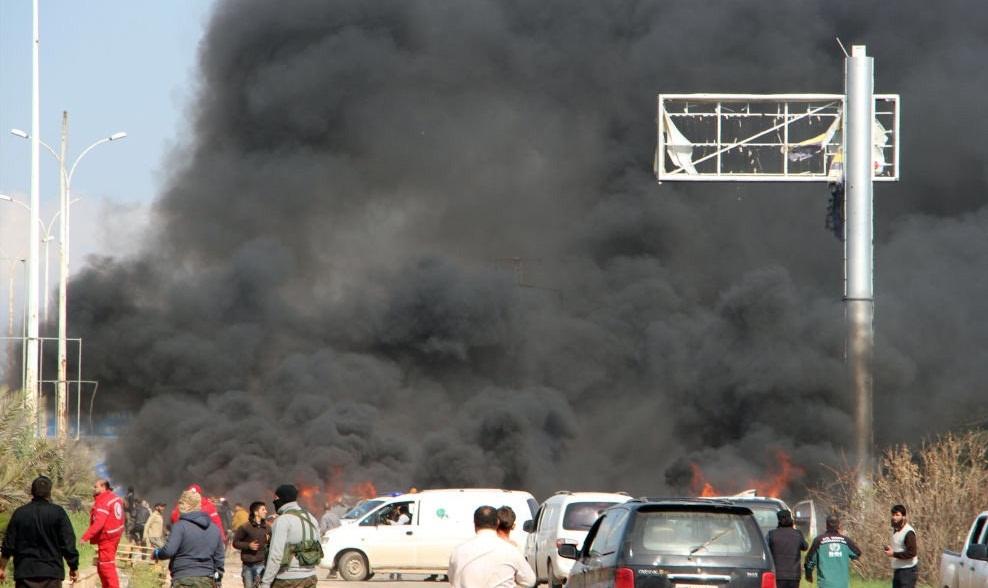Afbeeldingsresultaat voor انفجار انتحاری در سوریه